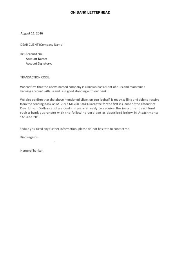 Ready willing and able letter