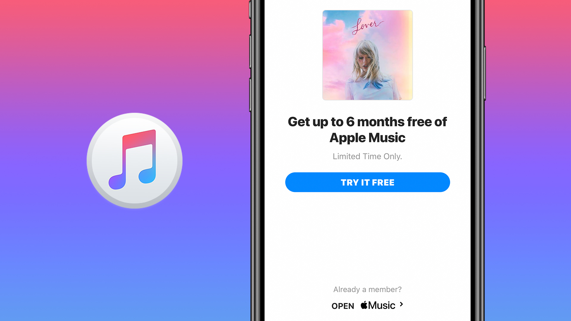 Get a free month of apple music