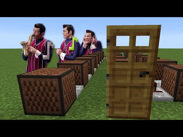 Minecraft song we are the ones