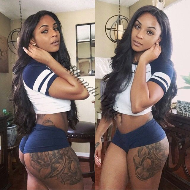 Sexy thick women in hot pants